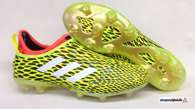 Adidas Glitch Skin 17 FG Orange Jaune