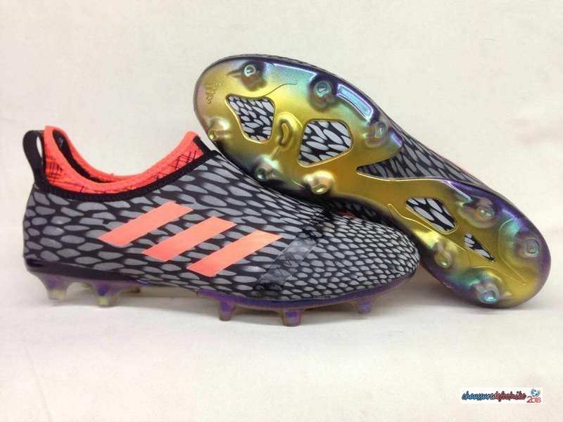 Adidas Glitch Skin 17 FG Orange Noir