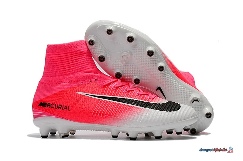 Nike Mercurial Superfly V AG Blanc Rose