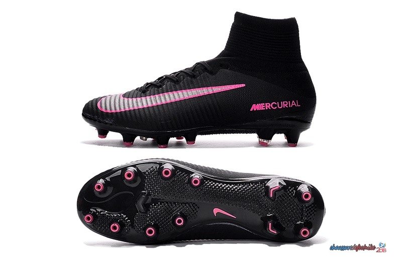 Nike Mercurial Superfly V AG Noir Rose