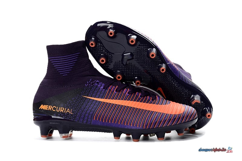 Nike Mercurial Superfly V AG Orange Pourpre