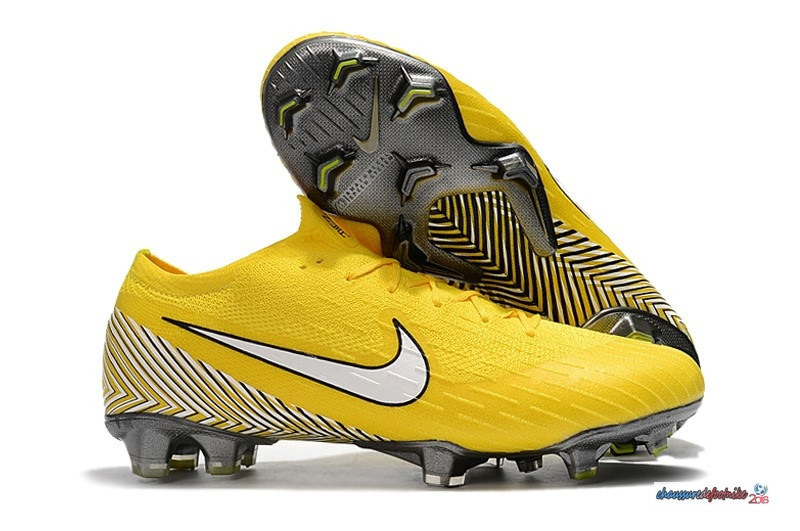 Nike Mercurial Superfly VI 360 Elite FG Jaune