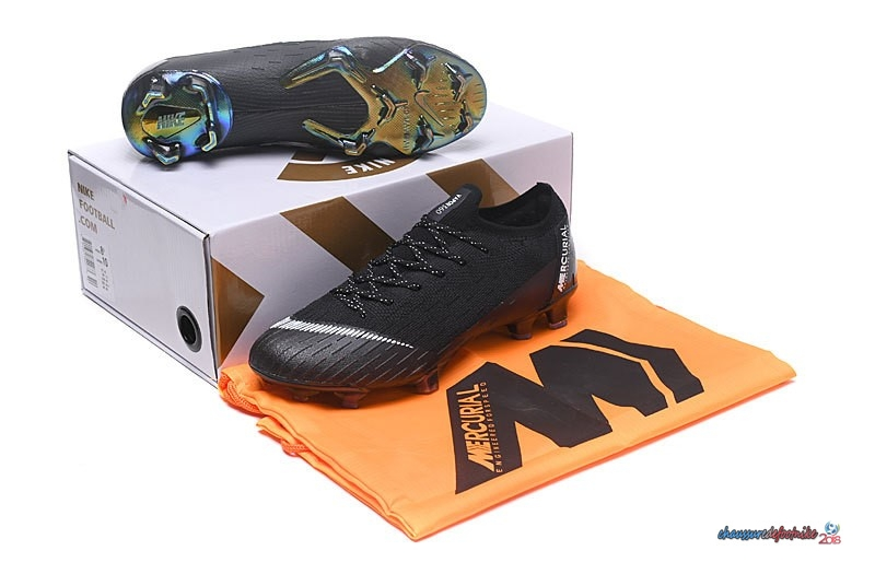 Nike Mercurial Superfly VI 360 Elite FG Noir
