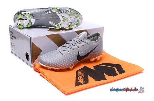 Nike Mercurial Superfly VI Elite FG Gris Noir