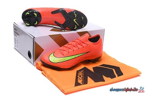 Nike Mercurial Superfly VI Elite FG Jaune Orange