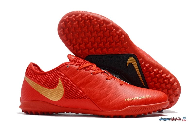 Nike Phantom VSN Academy TF Rouge