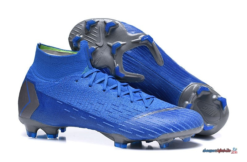 Nike Mercurial Superfly VI 360 Elite FG Bleu