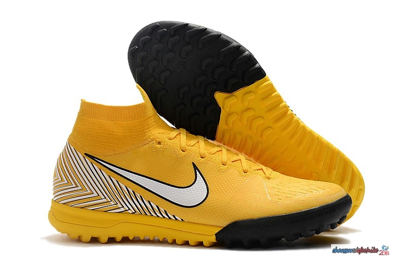 Nike Mercurial Superfly VI 360 Elite Neymar TF Jaune