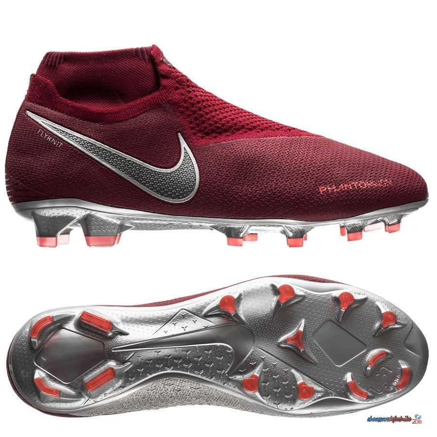 Nike Phantom Vision Elite DF FG Rouge