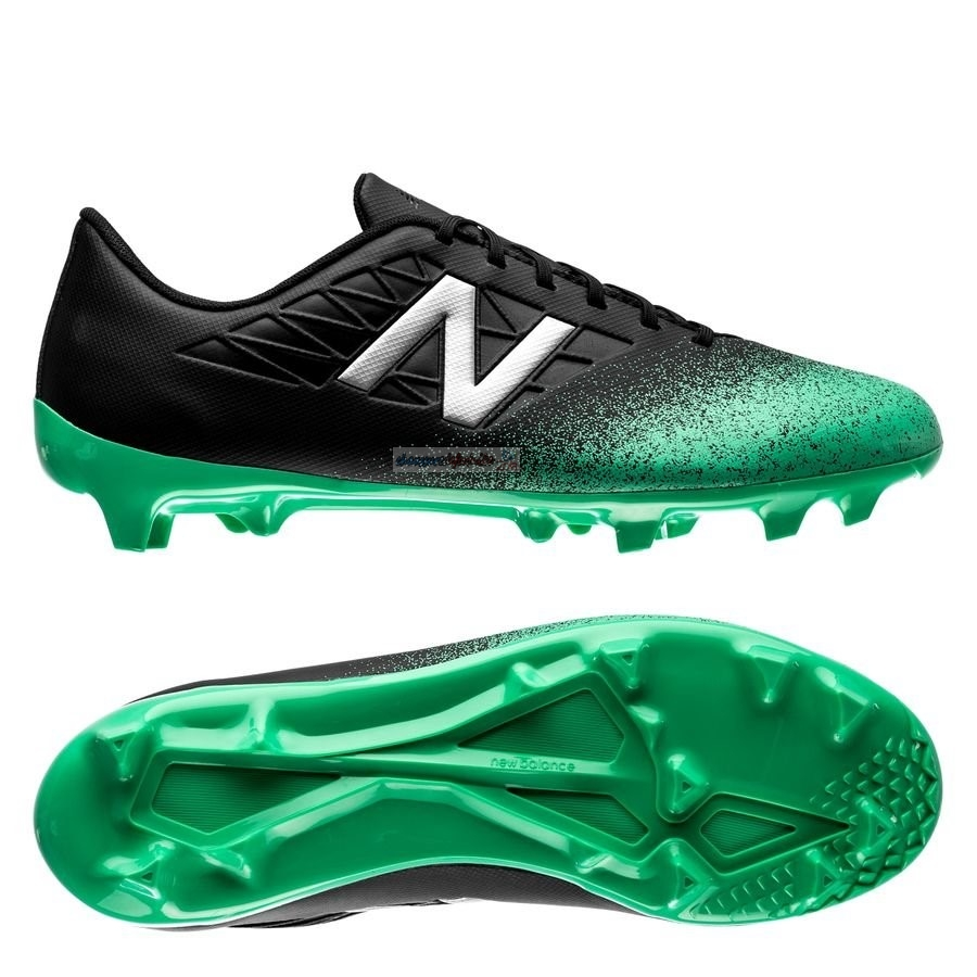 New Balance Furon 5.0 Dispatch Enfant FG Noir Vert