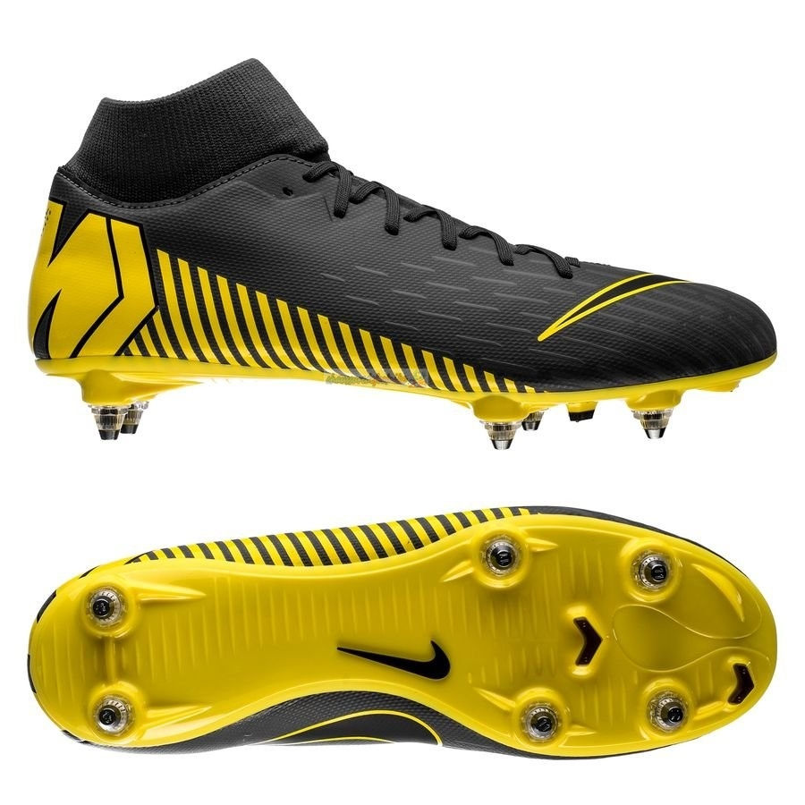 Nike Mercurial Superfly 6 Academy SG PRO Game Over Noir Jaune