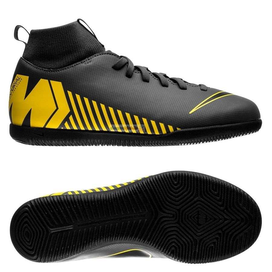 Nike Mercurial Superfly 6 Club Enfant IC Game Over Noir Jaune