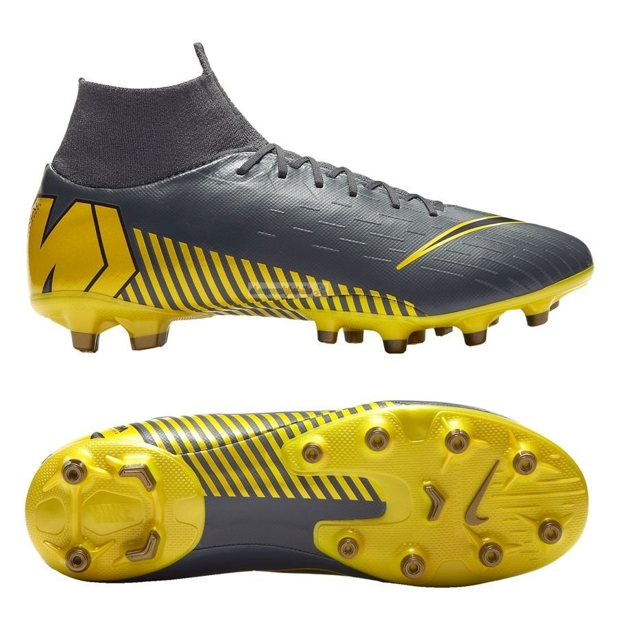 Nike Mercurial Superfly 6 Pro AG PRO Game Over Noir Jaune