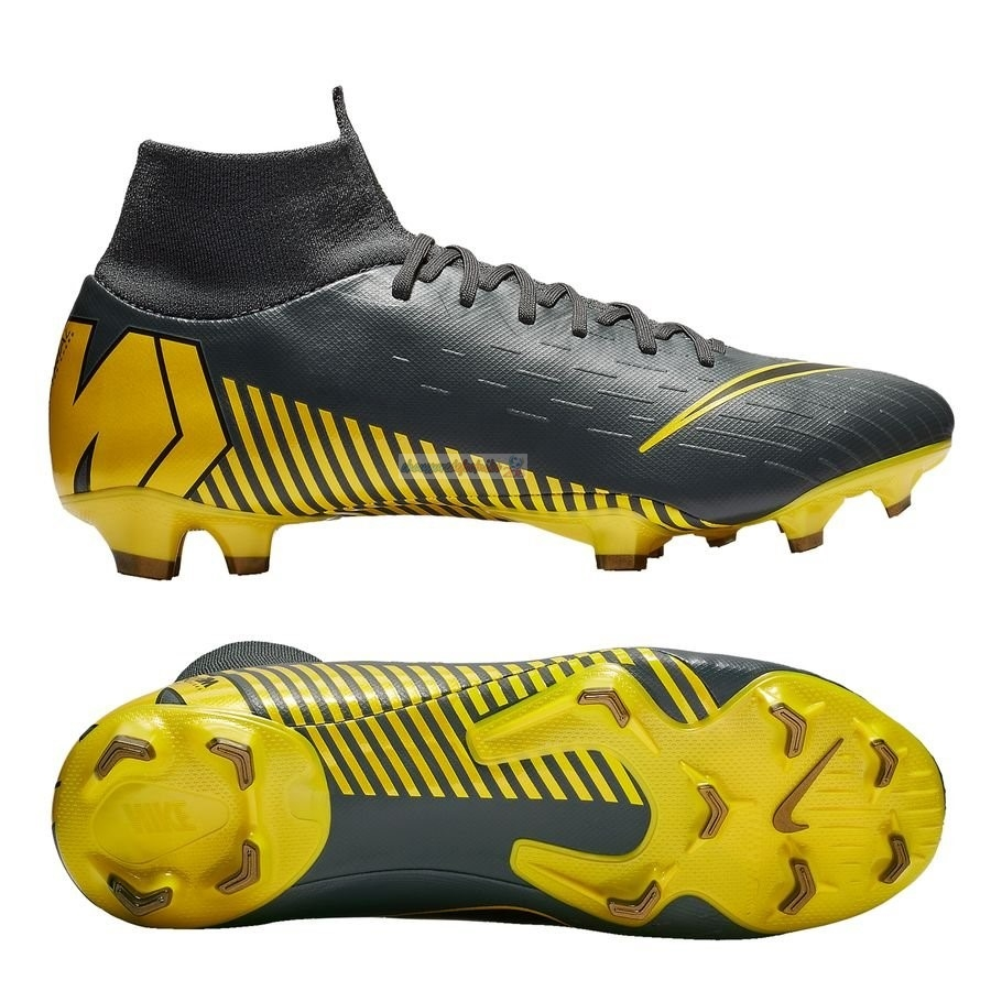Nike Mercurial Superfly 6 Pro FG Game Over Noir Jaune