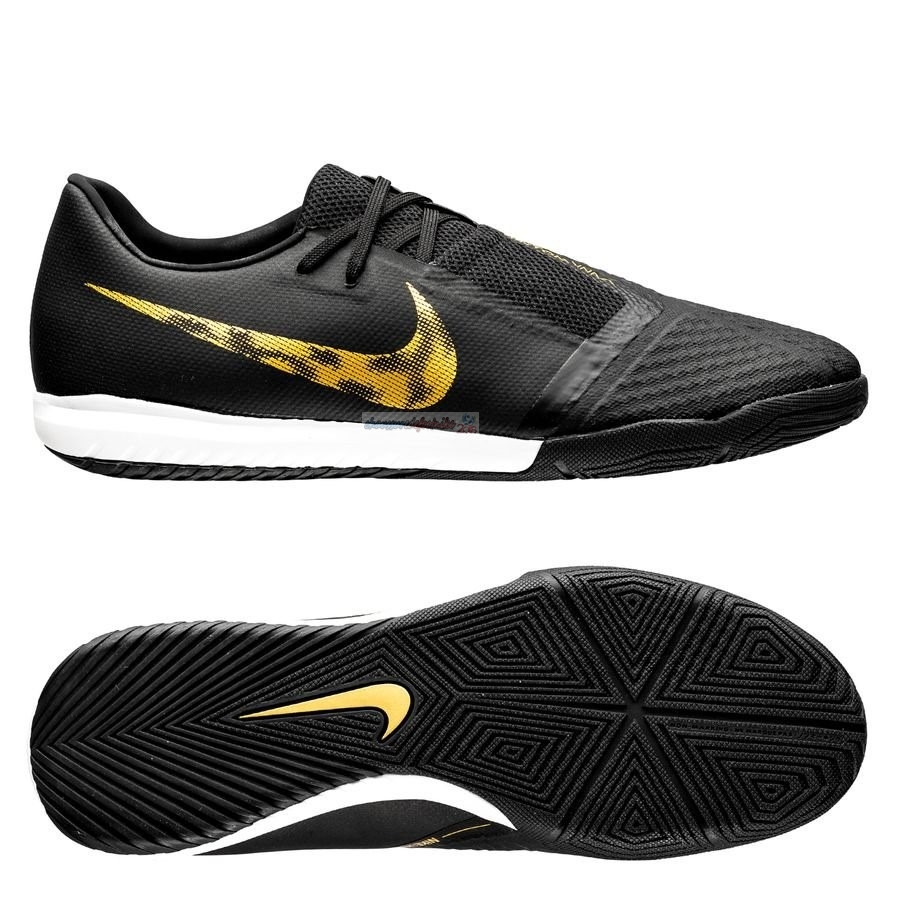 Nike Phantom Venom Academy IC Black Lux Noir Or
