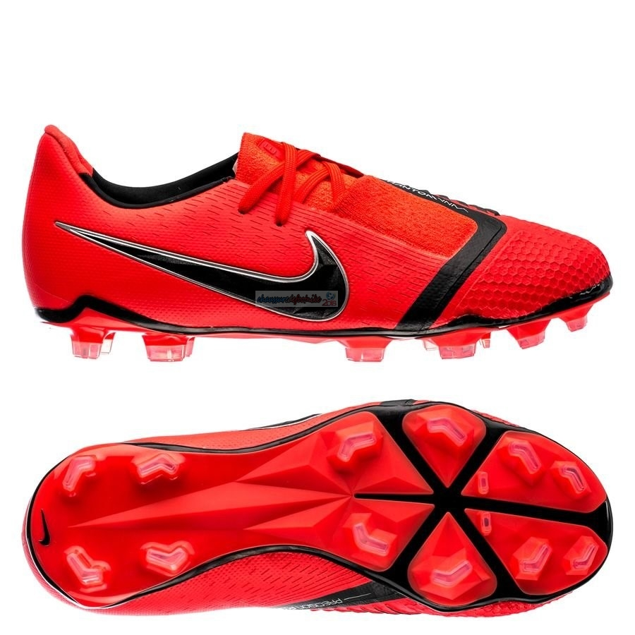 Nike Phantom Venom Elite Enfant FG Game Over Rouge