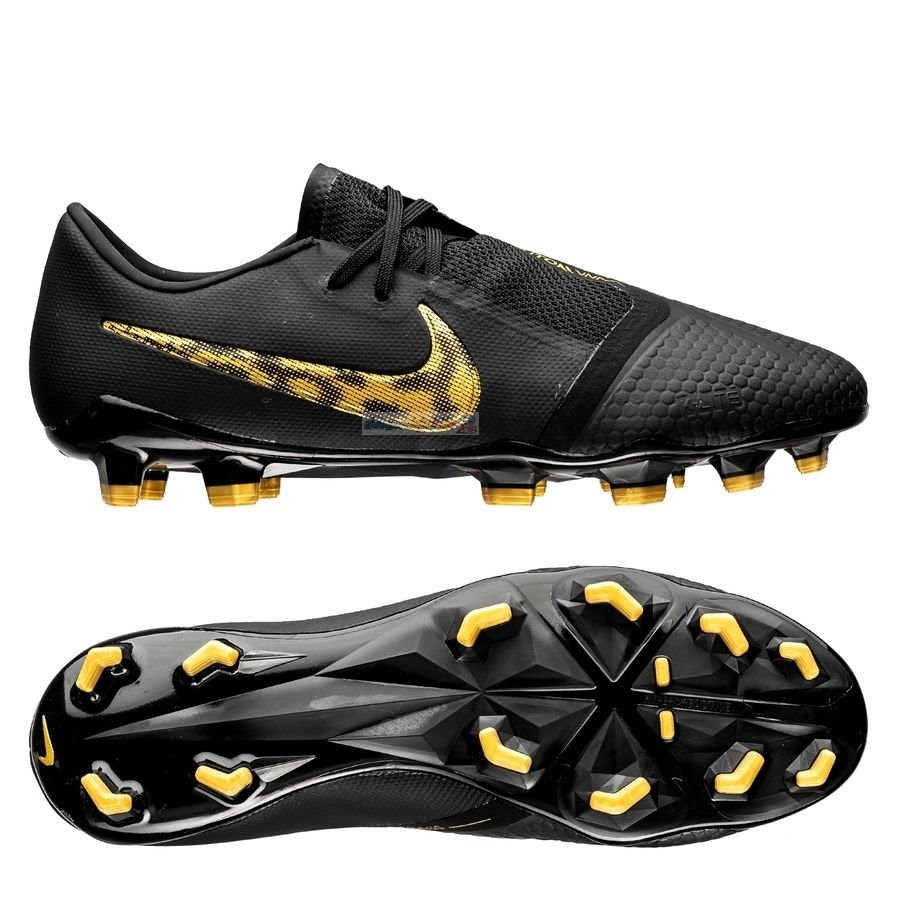 Nike Phantom Venom Pro FG Black Lux Noir Or