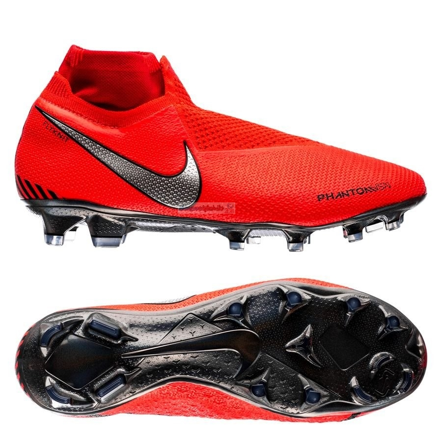 Nike Phantom Vision Elite DF FG Game Over Rouge