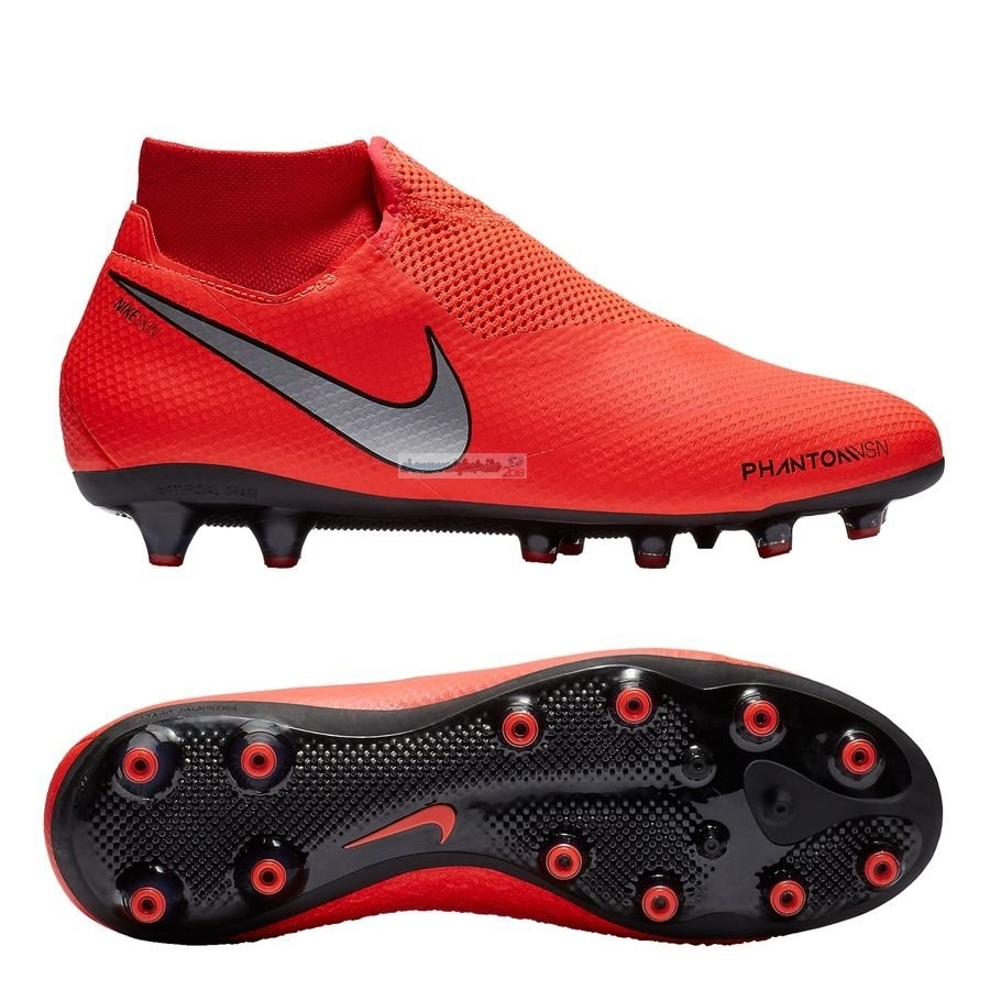 the best attitude 03ba9 12a46 Nike Phantom Vision Pro DF AG PRO Game Ove Rouge