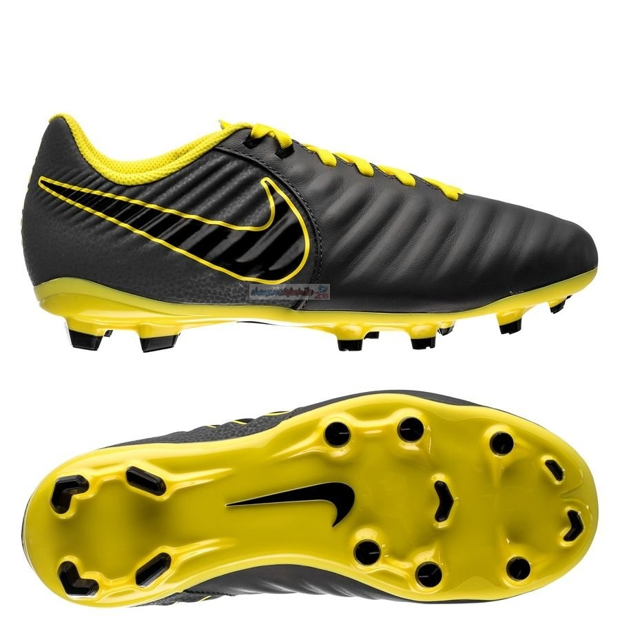 Nike Tiempo Legend VII Academy Enfant FG Game Over Noir Jaune