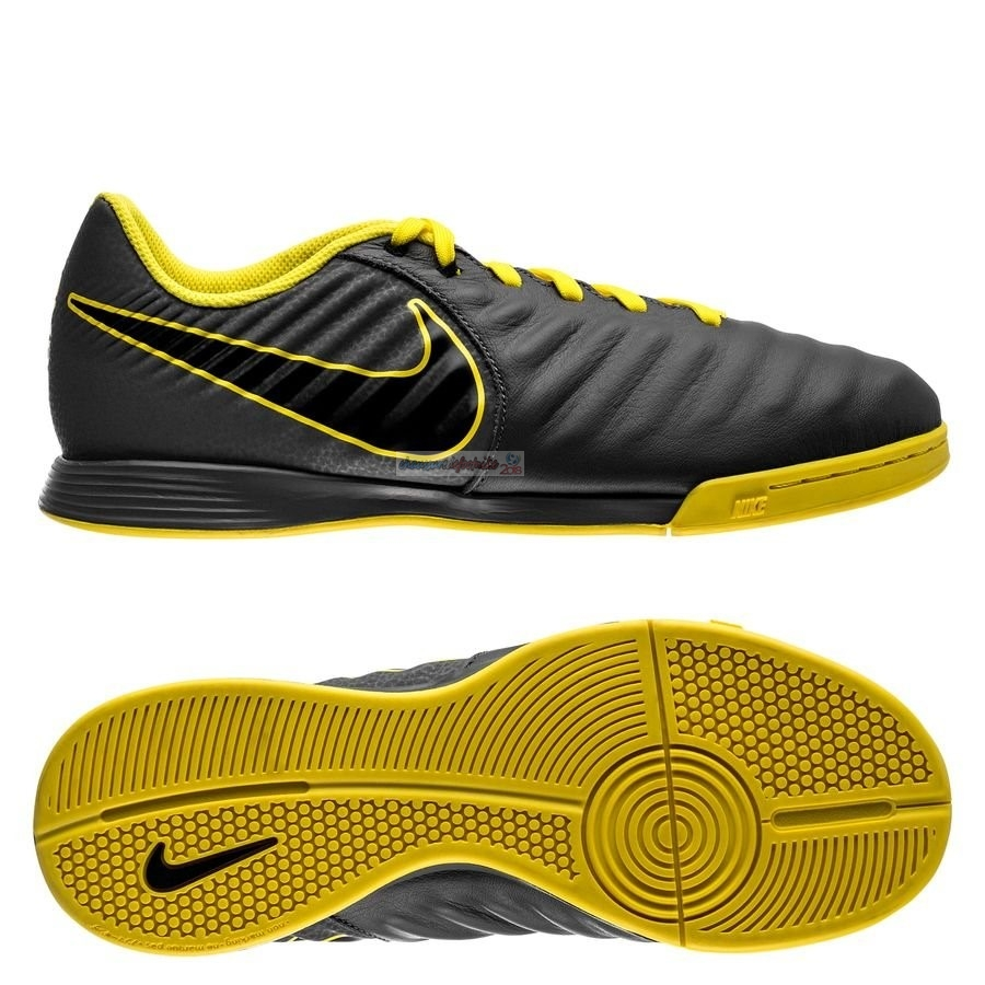 Nike Tiempo Legend VII Academy Enfant IC Game Over Noir Jaune