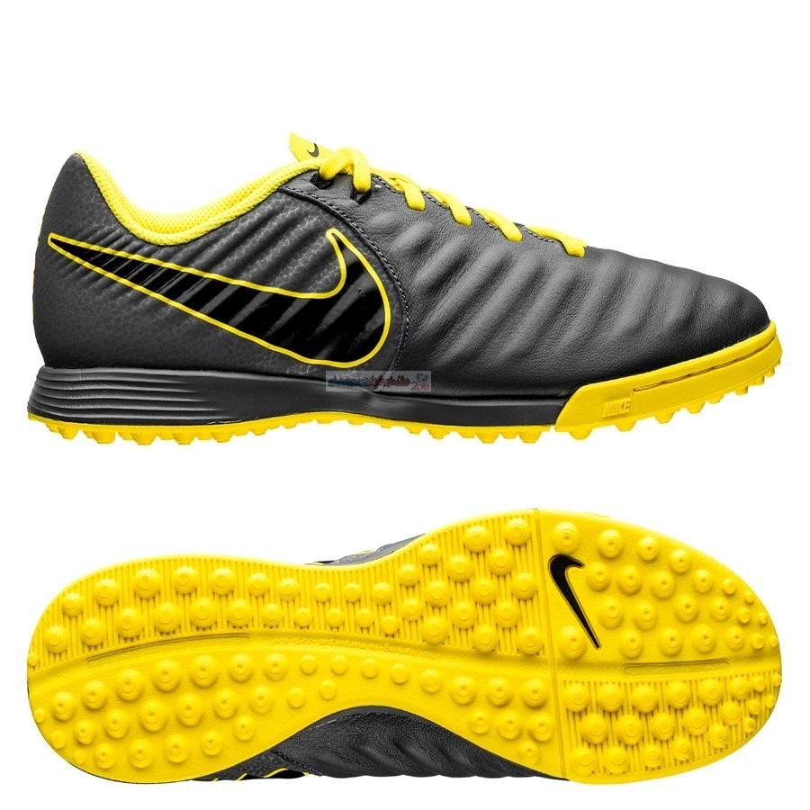 Nike Tiempo Legend VII Academy Enfant TF Game Over Noir Jaune