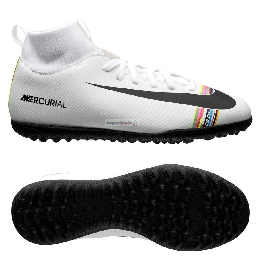Nike Mercurial Superfly 6 Club TF Blanc