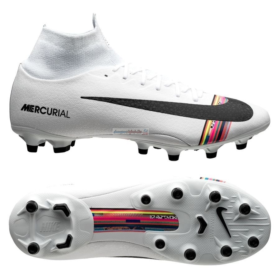 Nike Mercurial Superfly 6 Pro AG PRO LVL UP Blanc