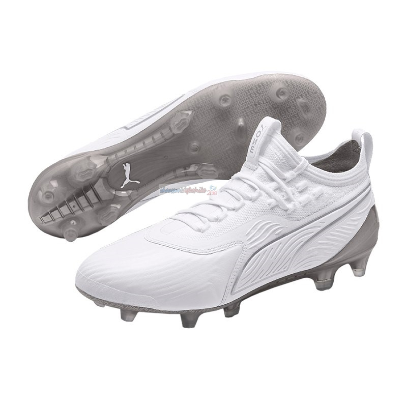 Puma One 19.1 Limited Edition FG Blanc