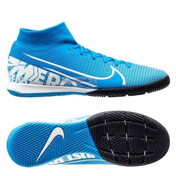 Nike Mercurial Superfly 7 Academy IC Bleu