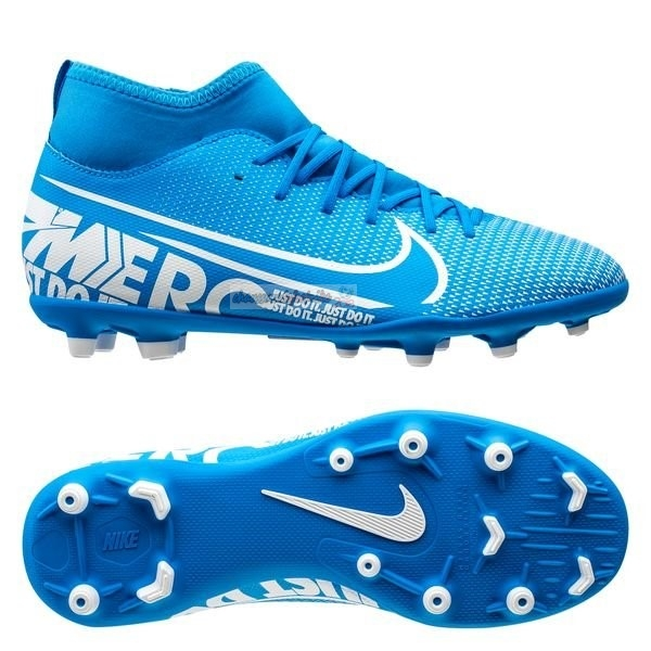 Nike Mercurial Superfly 7 Club MG Bleu
