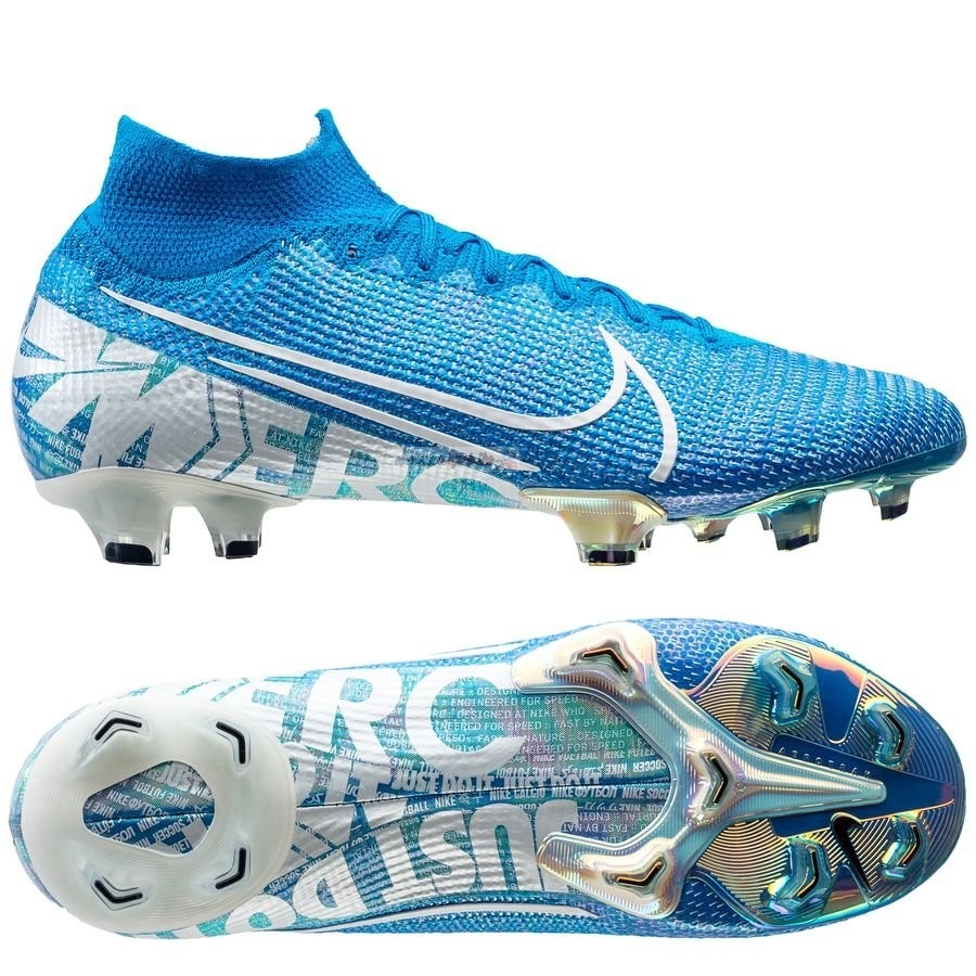 Nike Mercurial Superfly 7 Elite FG Bleu