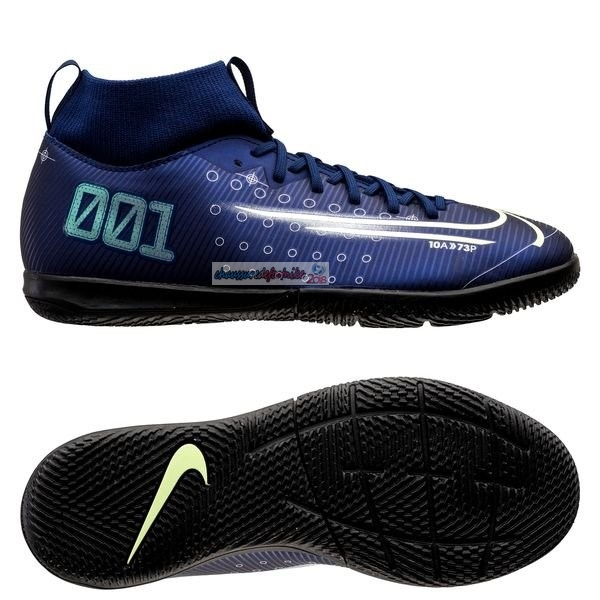 Nike Mercurial Superfly 7 Academy Enfant IC Marine