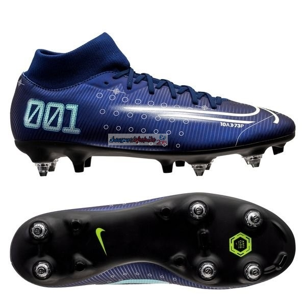 Nike Mercurial Superfly 7 Academy SG PRO Bleu