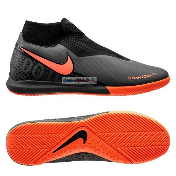 Nike Phantom Vision Academy DF IC Fire Noir