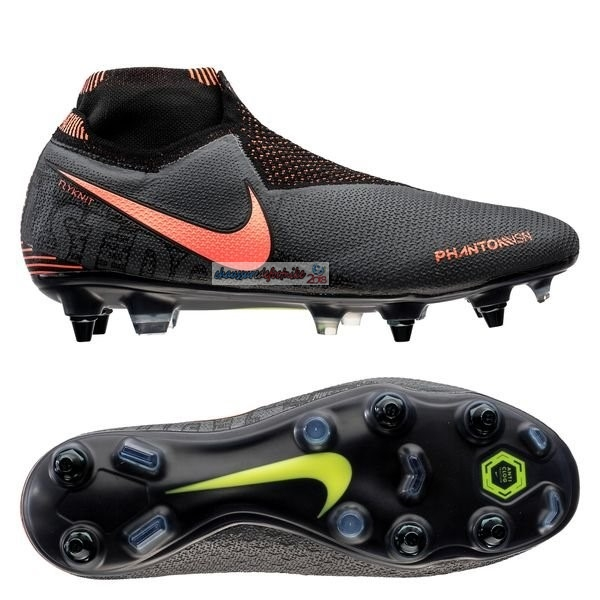 Nike Phantom Vision Elite DF SG PRO Anti Clog Fire Noir