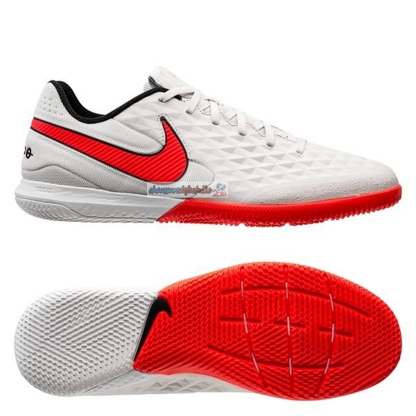 Nike Tiempo Legend 8 Pro IC Blanc Rouge