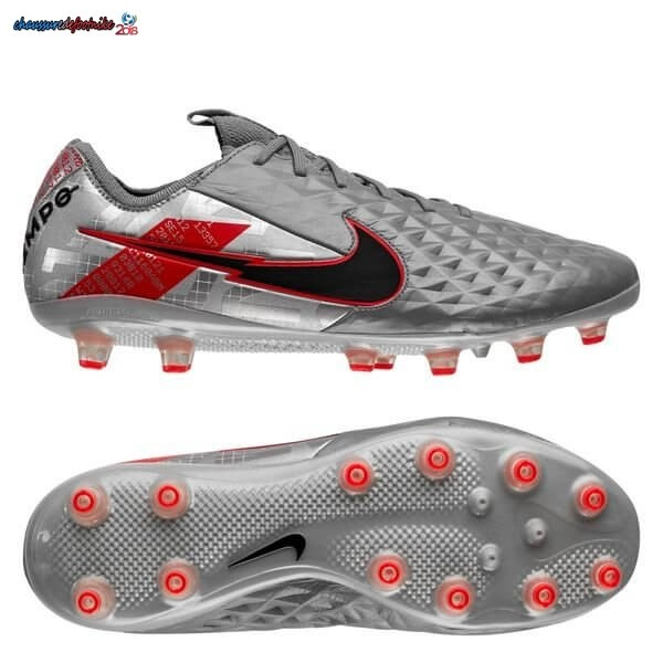 Nike Tiempo Legend 8 Elite Pro AG Neighbourhood Métallique Gris Noir