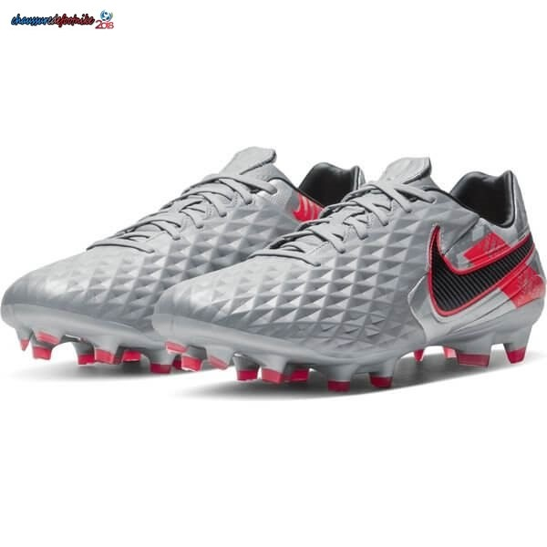 Nike Tiempo Legend 8 Pro FG Neighbourhood Métallique Gris Noir