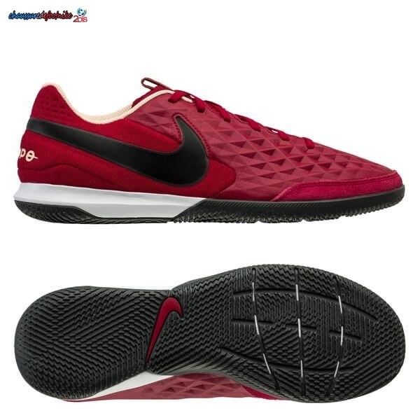 Nike Tiempo Legend 8 Academy IC Play Mode Rouge Noir Blanc