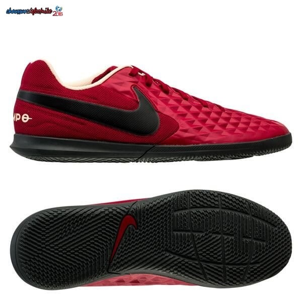 Nike Tiempo Legend 8 Club IC Play Mode Rouge Noir Blanc