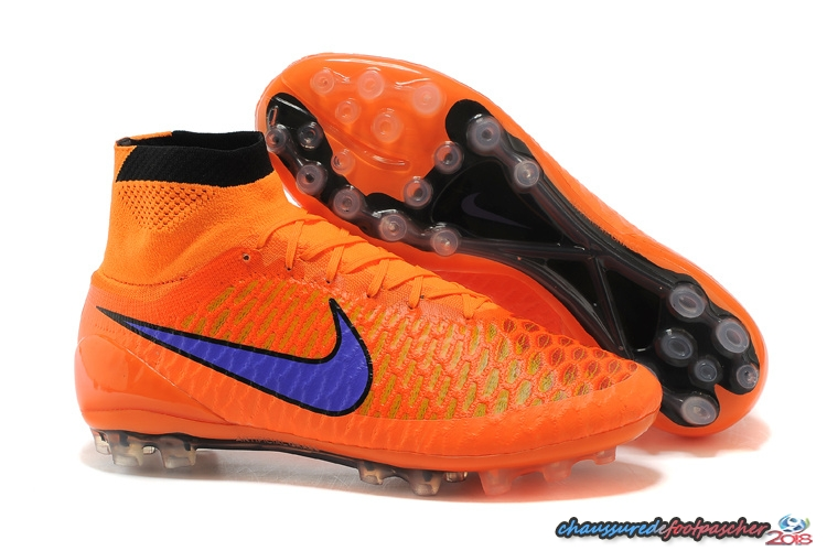 Nike Magista Obra AG Orange Bleu