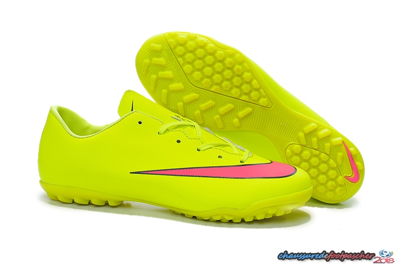 Nike Mercurial X Victory TF Vert Fluorescent Rouge