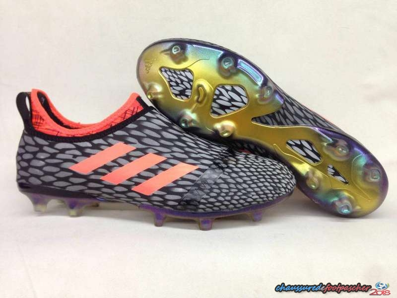 Adidas Glitch Skin 17 FG Orange Gris