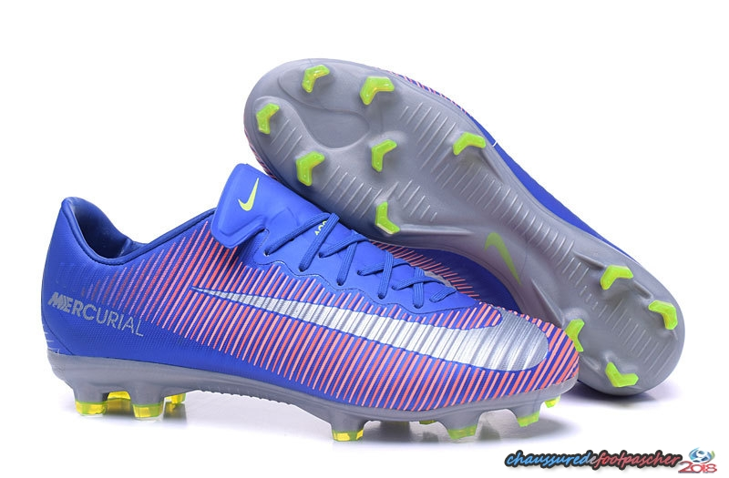 Nike Mercurial Superfly V FG Bleu Rose Blanc