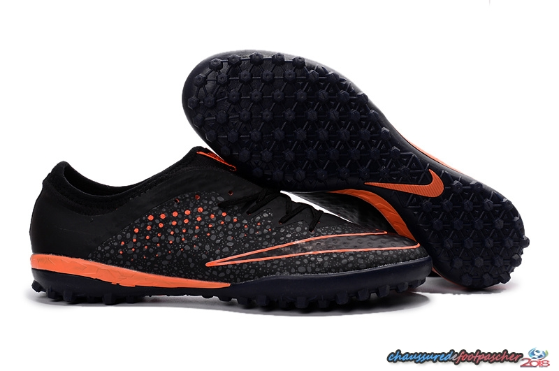 Nike MercurialX Finale TF Noir Orange