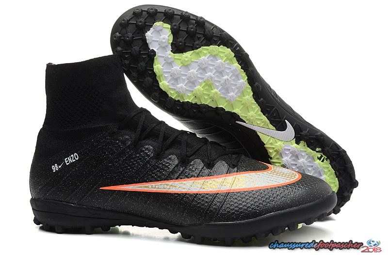 Nike Mercurial Superfly CR7 TF Noir Orange