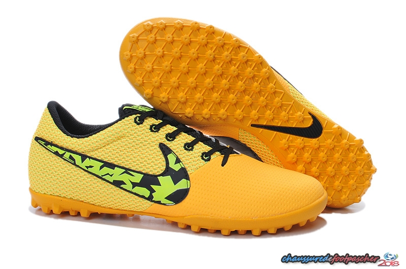 Nike Elastico Pro III TF Orange Noir