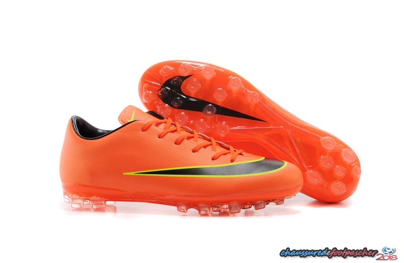 Nike Mercurial X Vapor AG Orange Jaune