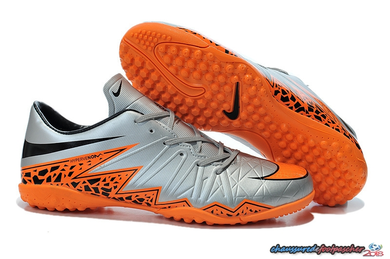 Nike HyperVenom II TF Gris Orange